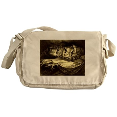 The Three Witches Messenger Bag
