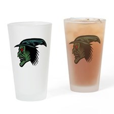 Wicked witch Drinking Glass