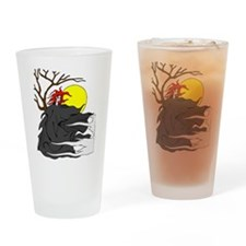 Spirit of the Night Drinking Glass
