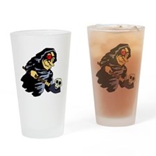 Evil eyed witch Drinking Glass