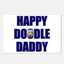 Labradoodle Dad Postcards (Package of 8)