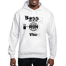 [BMIRT] Bossman I Run This Hoody (M)