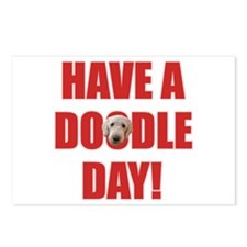 Doodle Day Labradoodle Postcards (Package of 8)