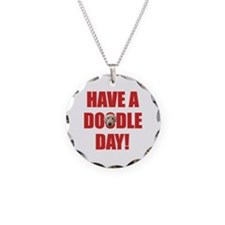 Doodle Day Labradoodle Necklace