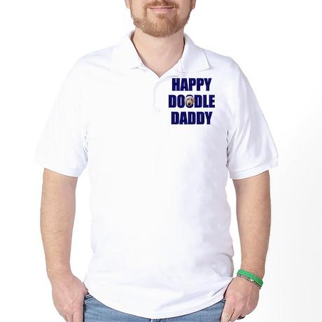 Goldendoodle Dad Golf Shirt