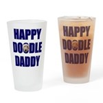Goldendoodle Drinking Glass