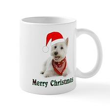 Unique Westie christmas Mug