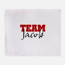 Team Jacob Black Throw Blanket