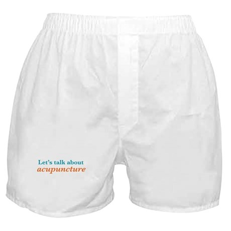 Talk Acupuncture Boxer Shorts