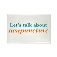 Talk Acupuncture Rectangle Magnet (100 pack)