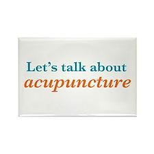 Talk Acupuncture Rectangle Magnet
