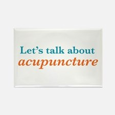Talk Acupuncture Rectangle Magnet