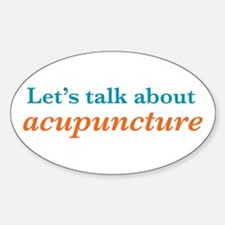 Talk Acupuncture Decal