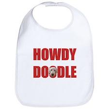 Howdy Goldendoodle Bib