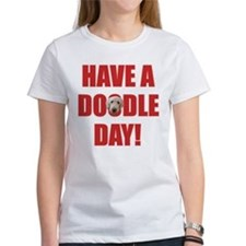 Doodle Day Goldendoodle Tee