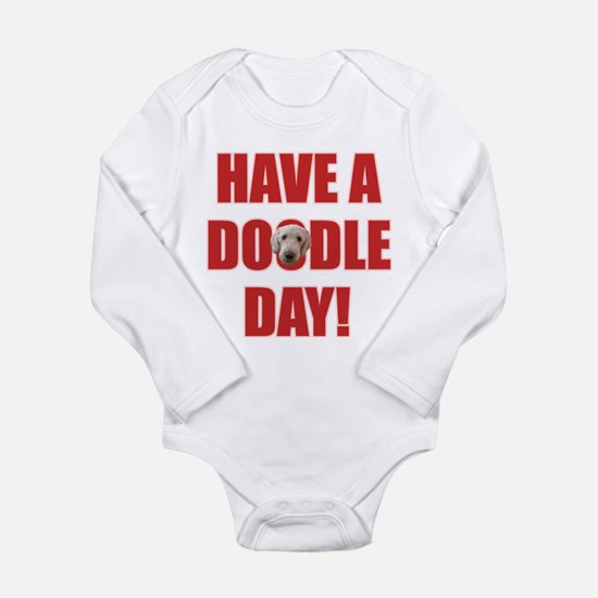 Doodle Day Goldendoodle Long Sleeve Infant Bodysui