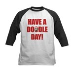 Goldendoodle Kids Baseball Jersey