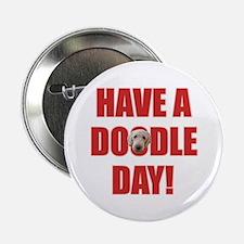 "Doodle Day Goldendoodle 2.25"" Button"