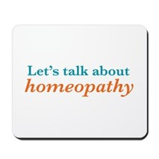 Talk Homeopathy Mousepad