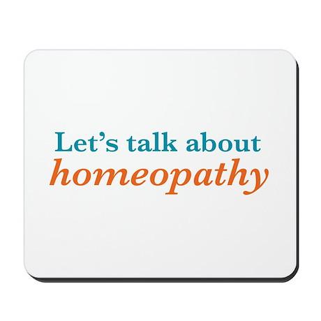 Talk Homeopathy Mousepad