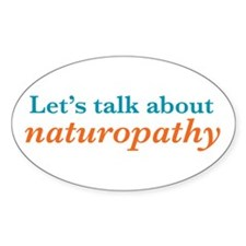 Talk Naturopathy Decal