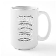 vet tech back Mugs