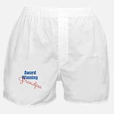 Award Winning Grandpa Boxer Shorts