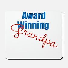 Award Winning Grandpa Mousepad