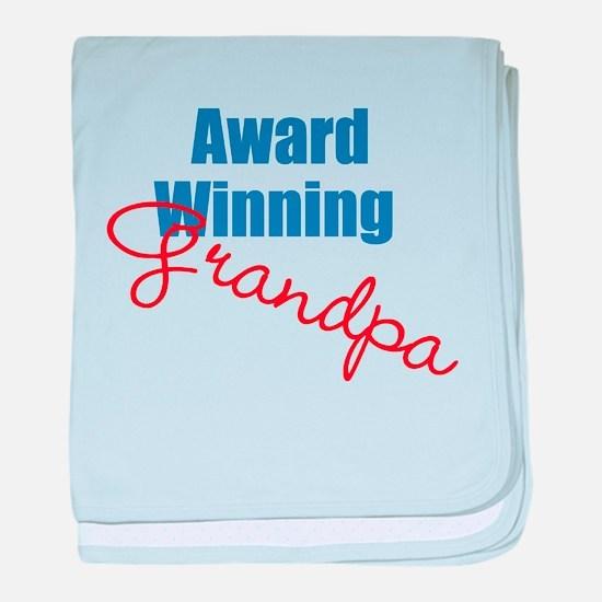 Award Winning Grandpa baby blanket