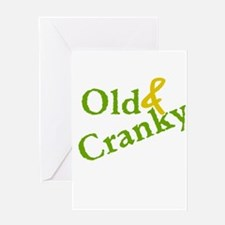 Old & Cranky Greeting Card