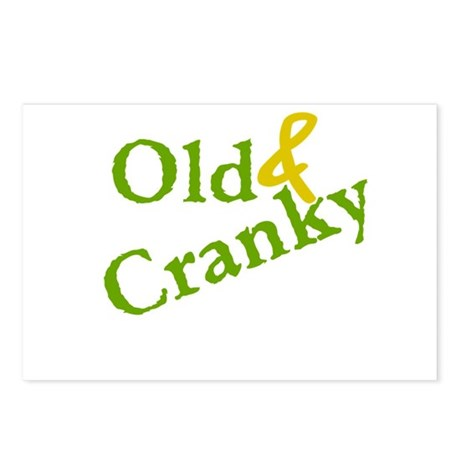 Old & Cranky Postcards (Package of 8)