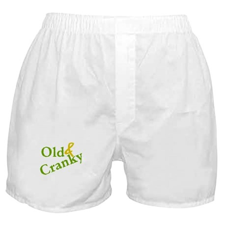 Old & Cranky Boxer Shorts