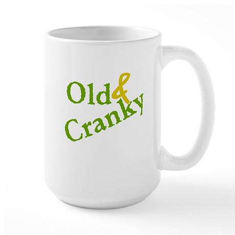 Old & Cranky Large Mug