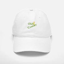 Old & Cranky Baseball Baseball Cap