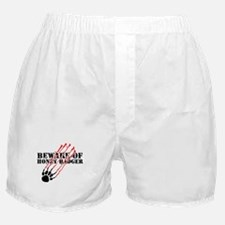 Beware of honey badger Boxer Shorts