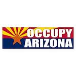 Occupy Arizona protest Bumper Sticker