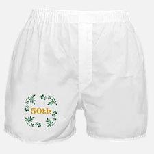 50th Birthday or Anniversary Boxer Shorts