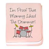 Drum baby blanket Blanket