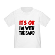 I'm With The Band T