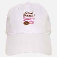 Speech Therapist Gift Doughnuts Baseball Baseball Cap
