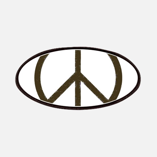 Cool Vintage Peace Sign Patches