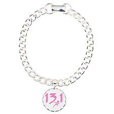 Pink 13.1 half-marathon Bracelet