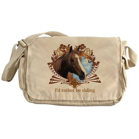 I'd Rather Be Riding, Horse Messenger Bag