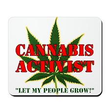 Cannabis Activist Mousepad