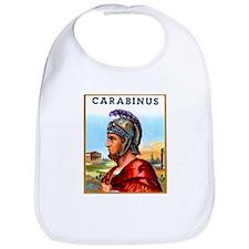 Carabinus Roman Soldier Cigar Label Bib