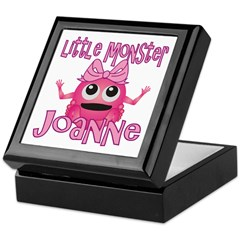 Little Monster Joanne Keepsake Box