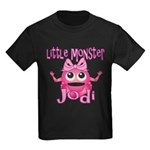 Little Monster Jodi Kids Dark T-Shirt