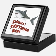 Shark Danger! Teething Keepsake Box