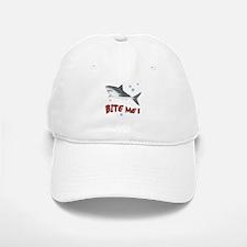 Shark - Bite Me Baseball Baseball Cap