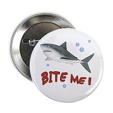 """Shark - Bite Me 2.25"""" Button"""